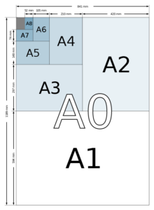 papierformaten - By User:Bromskloss - This is an improved version of A size illustration.svg., CC BY-SA 3.0, https://commons.wikimedia.org/w/index.php?curid=1369452